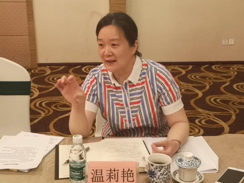 成都市工商联副主席温莉艳莅临遂宁商会调研
