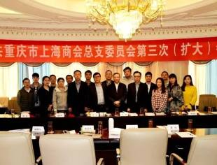 重庆市上海商会党总支第三次(扩大)会议在恒大御龙天峰召开